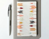 Arrow Check Book Cover, Cute Checkbook Holder, Valentines Day Gift Idea