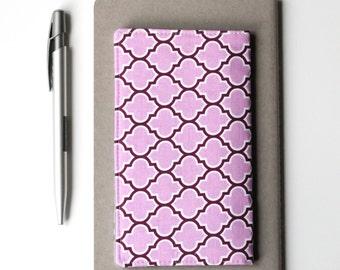 Purple Checkbook Cover, Purse Accessories, Womens Check Book Holder