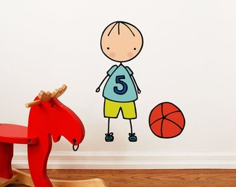 Lets play - Wall Decal - Wall Sticker