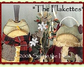 Flakette's Snow Frogs E-Pattern