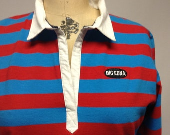 Classic Twisted Rugby Top red white blue