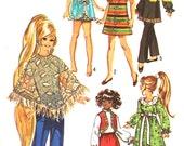 UNCUT Wardrobe for 15 1/2 Inch Dolls Simplicity 9138