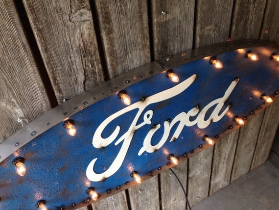 4 foot FORD marquee sign