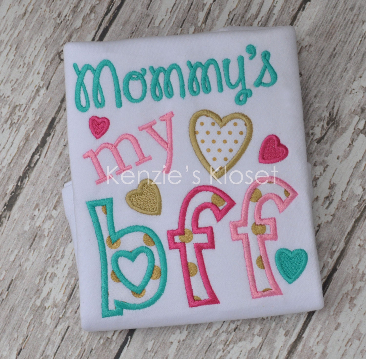 Mommy's My BFF Mother's Day Baby Shower New Baby