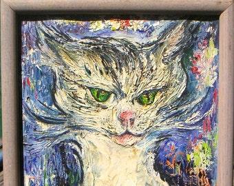 Expressionist Cat