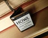 Howl book locket