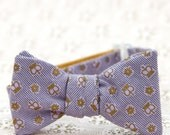 lilac royals freestyle bow tie for the little guy