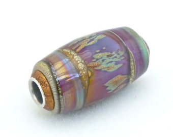 Handmade Glass Lampworked Glass Bead