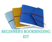 DIY Bookbinding Craft Kit - Make Three Mini Albums for Instagram Photos