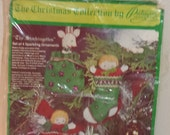 Christmas Collection Embroidery Kit by Paragon  Vintage NRFP