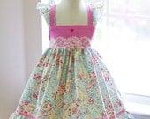 Girls Hannah Ellie-Style Summer Dress - Size 2