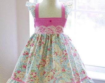Girls Hannah Ellie-Style Summer Dress