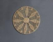 Large Round Weaving Wall Hanging