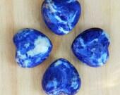 Sodalite Gemstone Heart