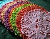Custom Listing For ANNIE / Lilly Pad Design Dishcloths