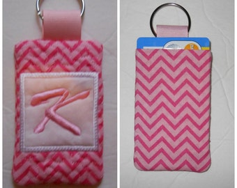 """Sale Quilted """"K"""" Key Chain only (READY TO SHIP)"""