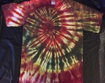 Tie Dye T-Shirt ADULT MEDIUM sale