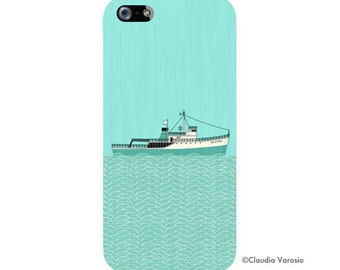 The Life Aquatic with Steve Zissou illustrated Iphone case