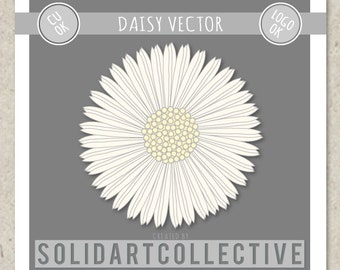 DAISY Vector Design - ok for Logos, Merchandising, Commercial, Invitations and More!
