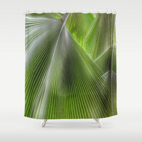 Jungle Palms Shower Curtain, Bathroom, Jungle Home Decor, Tropical Shower Curtain, Green Shower Curtain, Palm Tree, Surf, Beach, Holiday