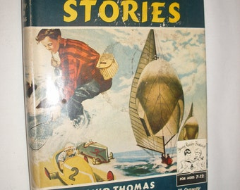 Young Readers Sports Stories Hardcover Vintage Book with Dust Jacket 1950