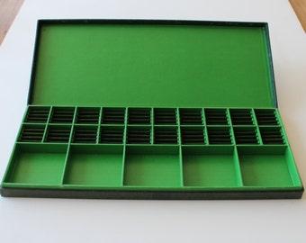 GREEN Vintage Storage Box