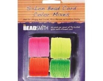 S-Lon NEON Mix-4 spools/colors