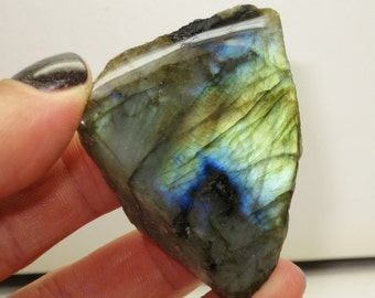 Pretty Things - Master Blaster Psychic Protectors Partially Polished Labradorite Spectrolite - Madagascar