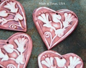 Heart Pendant made of pottery in Marsalas