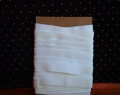 """3/4"""", white, knitted elastic, 6 yards"""