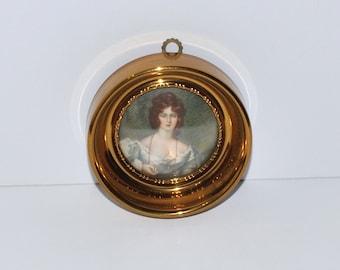 Vintage Mrs. Croker by Sir Thomas Lawrence Framed Print