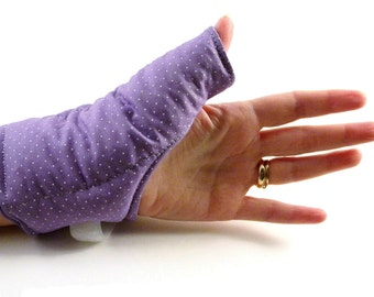 Thumb Heat Wrap, Hot or Cold Relaxation for Thumb, Texting, Knitting, Crochet, Tired Hand, Wearable Tech for Texting Thumb