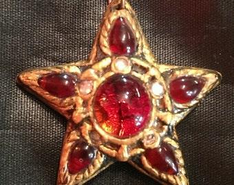 Red Star Pendant