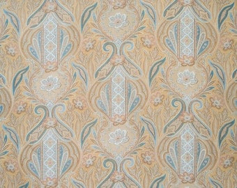 French antique fabric w paisley motif