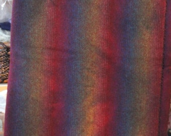 CRAZY STRIPES hand-dyed wool for rug hooking and penny rugs