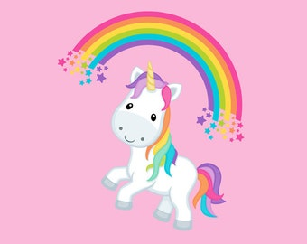 Magic Pink Unicorn PANEL