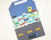 Car Wallet - Holds 5 of your child's favorite cars  - Lets go Fly Airplane