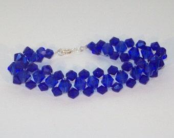 Swarovski Crystal Jewelry - Birthstone or Bridal Bracelet - Any Color