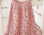 Instant download - Dress Crochet PATTERN (pdf file) - Chantilly Lace Sundress (sizes up to 8 years)