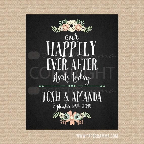 Welcome Quotes For Wedding: Chalkboard Wedding SignRustic Wedding Welcome SignWedding