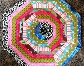 String pieced Mug Mat or Placemat