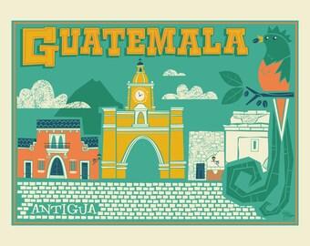 Guatemala 8.5x11