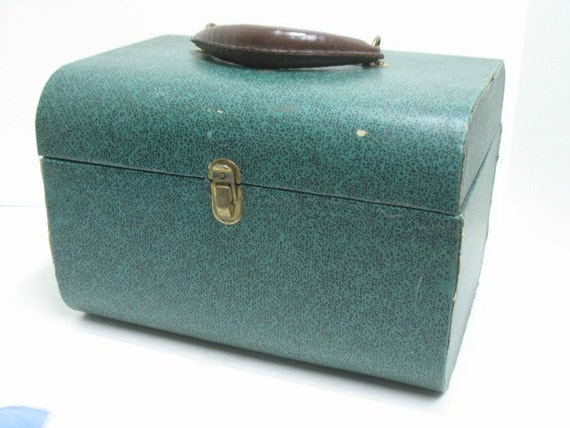 Vintage Reel To Reel Tape Carry Case Recording Tape Storage, Carrying Tote Luggage, Free Shipping