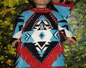 AMERICAN GIRL KAYA indian costume, papoose, slip-on-mocs, bear, headband,  original by granmafrancie