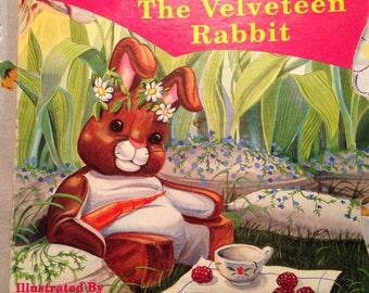The VELVETEEN RABBIT Vintage Little Golden Children's BOOK