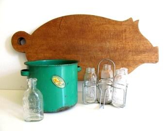 Vintage Amsco Baby Bottle Sterilizer Set 1940 Doll E Toys Evenflo Glass Baby Bottles Sterilizer  Rack