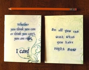 Be All You Can Be, Pocket Notebooks, Positive Thoughts, Gifts For Anyone