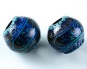 Blue Mood Mirage Big Hole Beads