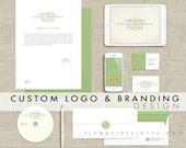 custom logo design and branding design / logo and brand board