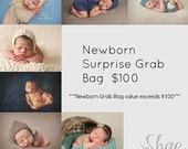 Newborn Surprise Grab Bag Knitted Photo Props Made to Order